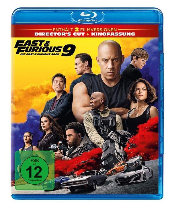 """Für die Familie: Wir verlosen die Action-Fortsetzung """"Fast & Furious 9 - Die Fast & Furious Saga"""" auf BD"""