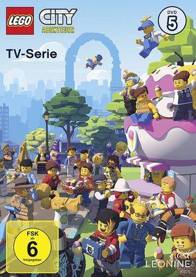 """Neue Abenteuer in Lego City: Wir verlosen """"LEGO City"""" - TV-Serie Teil 5 auf DVD sowie die passenden Hörspiele"""
