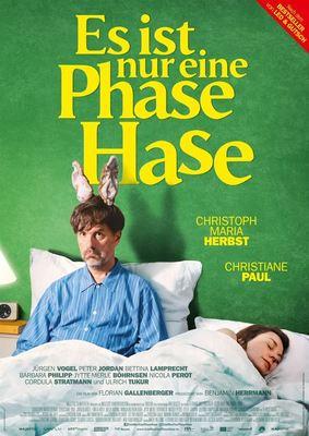 """Zum Kinostart von """"Es ist nur eine Phase, Hase"""" mit Christoph Maria Herbst verlosen wir Freikarten und das Buch zum Film"""