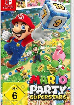 """Eine Party der Superlative: Wir verlosen """"Mario Party Superstars"""" für Nintendo Switch!"""