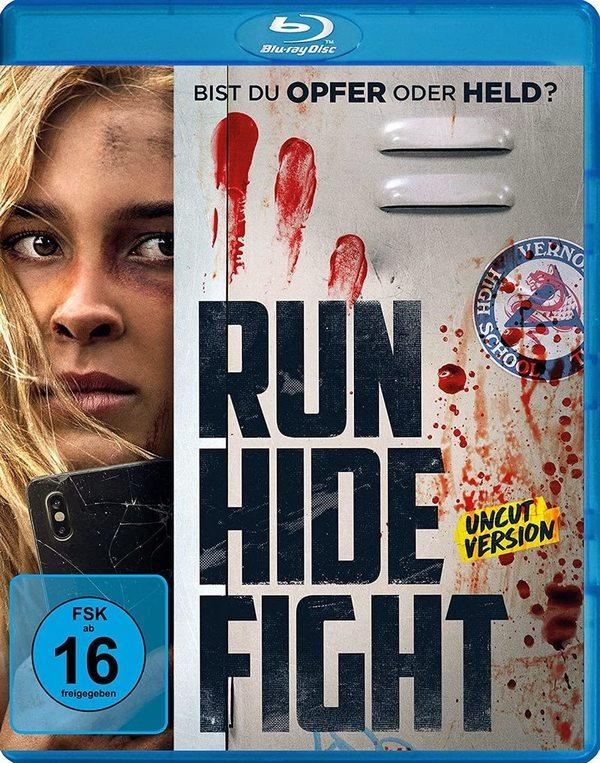 """Angriff: Wir verlosen den gnadenlosen Action-Thriller """"Run Hide Fight"""" auf BD"""