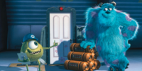 V3 monsters inc mike sully scare floor pixar